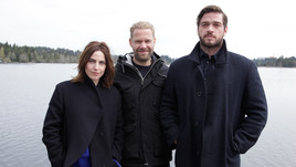Antje Traue, Philipp Leinemann, Ronald Zehrfeld (v.l.)<br>Copyright: ZDF/Christian Stangassinger